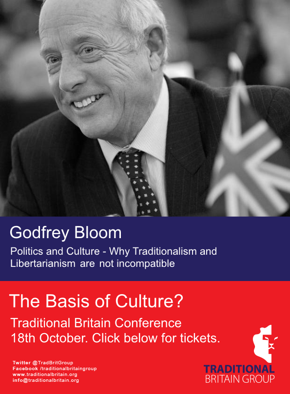Traditional Britain Group - Former MEP Godfrey Bloom