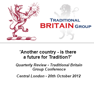 'Another Country - is there a future for Tradition?' Conference in conjunction with the Quarterly Review