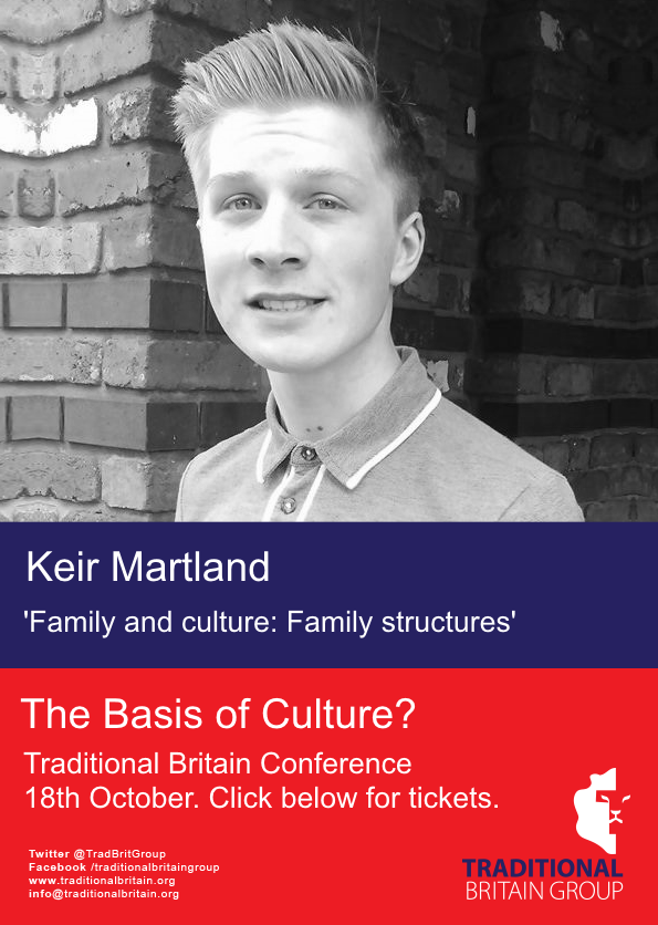 Traditional Britain Group Conference - Keir Martland