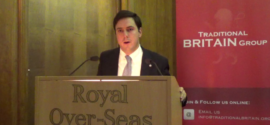Traditional Britain Group Address by Mr. Matteo Luini