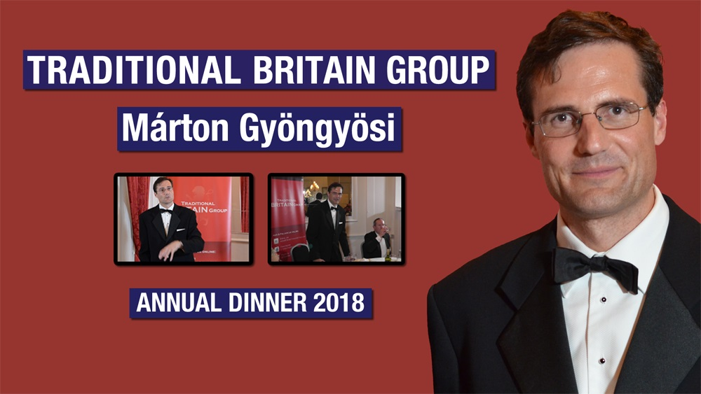 Footage from the Traditional Britain Dinner, June 2018 -  Márton Gyöngyösi, Jobbik