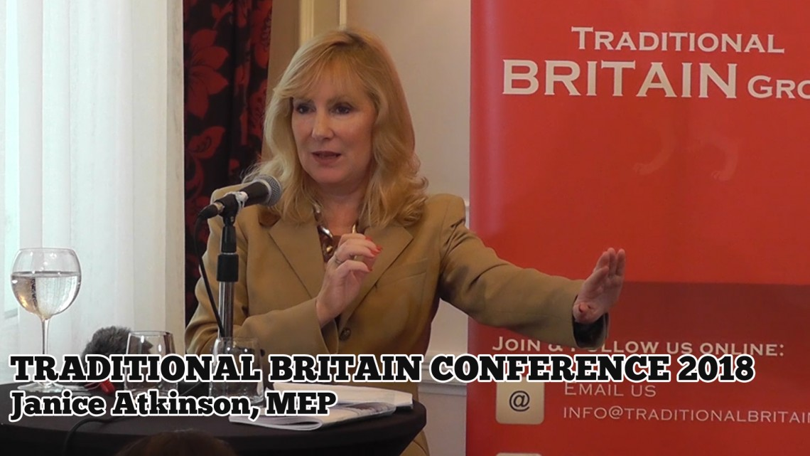 Janice Atkinson, MEP: Traditional Britain Conference, 2018