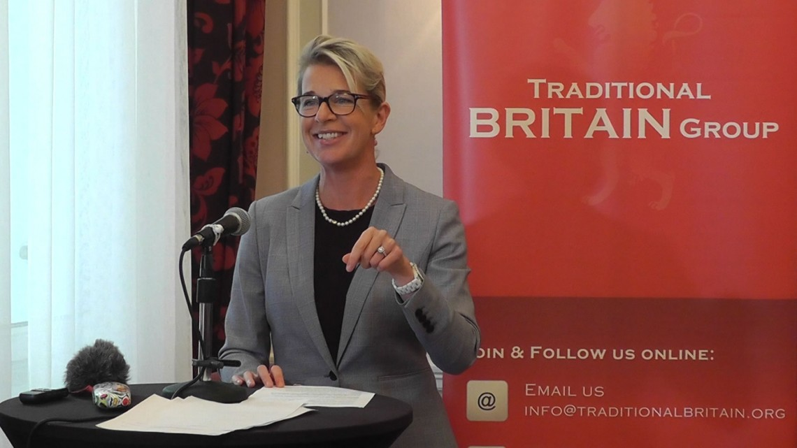 Katie Hopkins, Traditional Britain Conference 2018