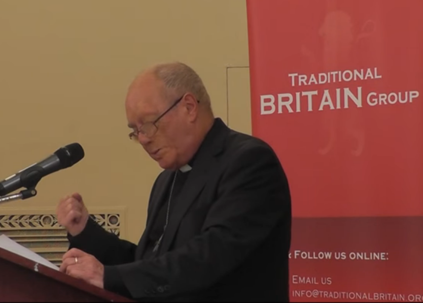 Rev. Peter Mullen - State of the Church of England and its heresies - Traditional Britain Conference 2015