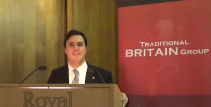 Matteo Luini - Rinnovamento nella Tradizione (Identity - Values ​​- Culture - Traditions - Monarchy) - Traditional Britain Conference 2016