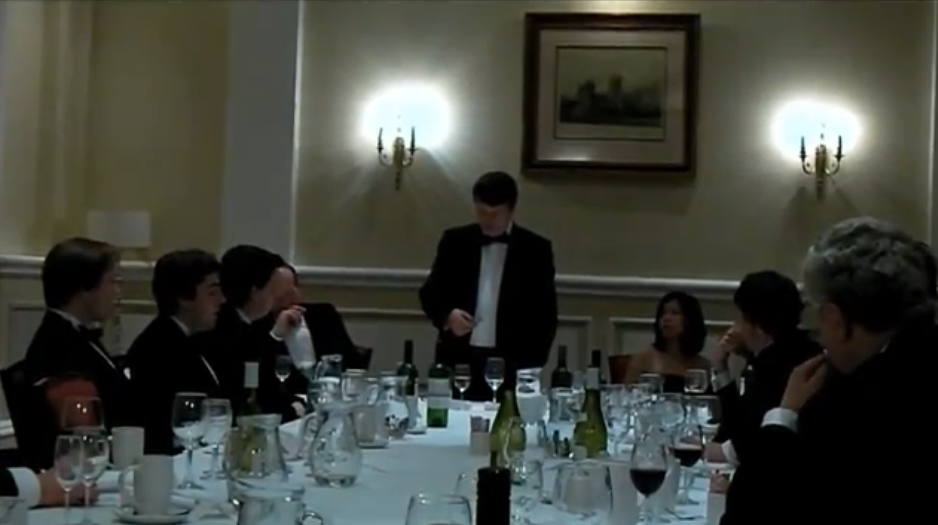 Gerard Batten: Traditional Britain Dinner 2011