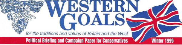 Archive: Western Goals Institute Issue Winter 1999